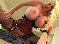 Monster breast milf loves violent sex.