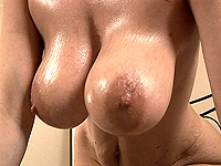Amazing voluminous natural monster breast milf.